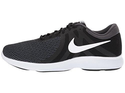 Nike Herren Revolution 4 Laufschuhe Schwarz / Weiß / Anthrazit