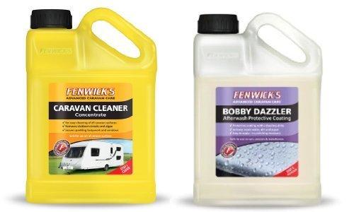 Fenwicks Caravan Cleaner 1L & Fenwicks Bobby Dazzler Twin Pack Deal