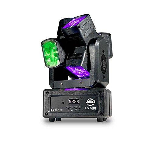 ADJ XS6600 Cabeza Móvil con Rayos de Luz, color Negro