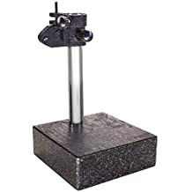 """HFS (R) Granite Surface Check Comparator Stand Plate 6'' x 6'' x 2'' Base, 10"""" Column"""