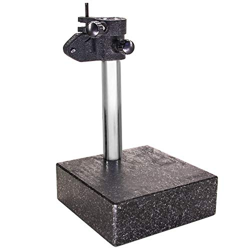 HFS (R) GRANITE SURFACE CHECK COMPARATOR STAND PLATE 6'' x 6'' x 2'' BASE, 10