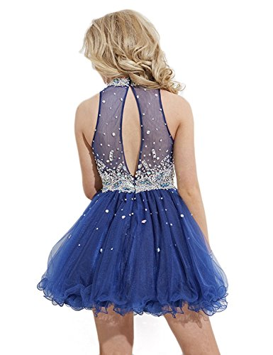 Linie Dark Damen Blue Kleid Blau Royal LYDIAGS A HwzqfqE