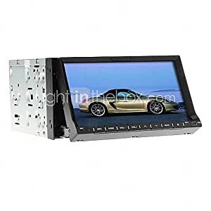 7 Inch 2Din TFT-Screen In-Dash Car DVD Player with GPS,BT,FM,iPod,TV