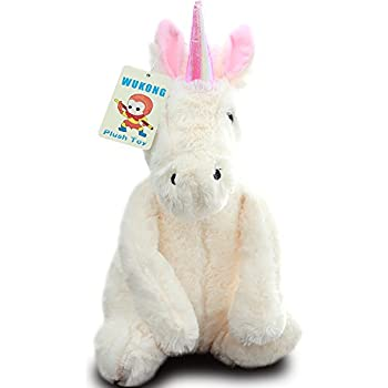 Wukong 19.5'' Unicorn Stuffed Animal Plush Pillow Toy
