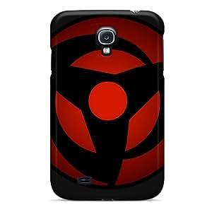 Marycase88 Samsung Galaxy S4 High Quality Hard Phone Case Allow Personal Design Fashion Vector Naruto Shippuden Sharingan Pattern [ndw5395DNih]