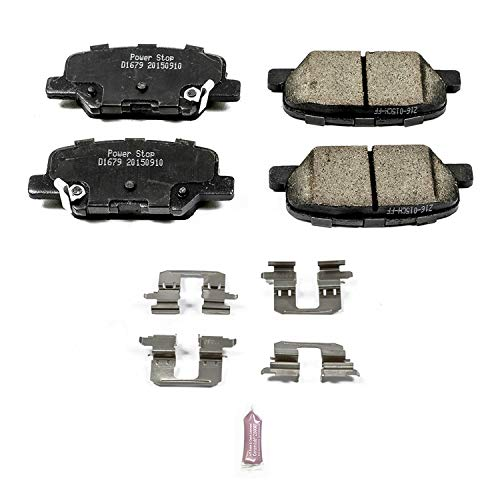 (Power Stop 17-1679, Z17 Evolution Ceramic Rear Brake Pads)