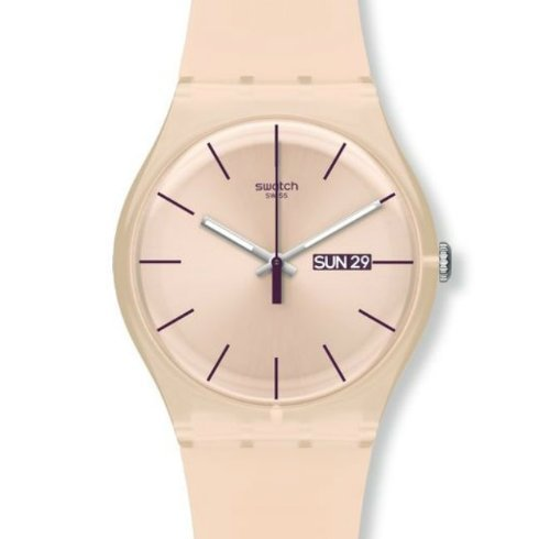 Swatch Rose Rebel Watch- SUOT700