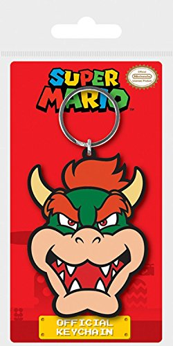 1art1 Super Mario - Bowser Llavero (6 x 4cm): Amazon.es: Hogar