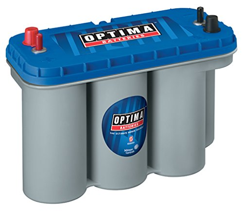 best trolling motor battery: Optima Batteries 8052-D31M Blue Top Starting and Deep Cycle Battery