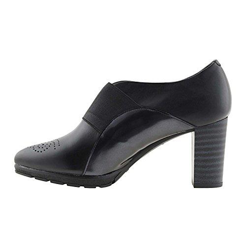 Pitillos Pitillos Negro Piel Piel de de de Zapatos Piel Pitillos Zapatos Negro Zapatos BTqSZF