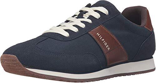 Tommy Hilfiger Men's Modesto Fashion Sneaker, Navy, 11 M US