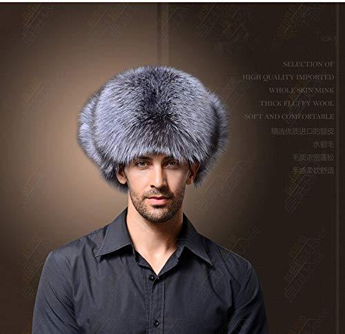 39c34edc5ed6f Culturemart Winter Mask Bomber Hat Male Faux Fur Dad Hat Russian Hat  Ushanka Men Warm Leather Trapper Aviator Hat Earflaps  Amazon.ca  Home    Kitchen