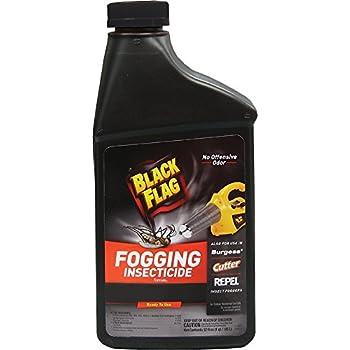 Black Flag 190255 Flying Insect Killer, Dry Fog, 32 Ounce