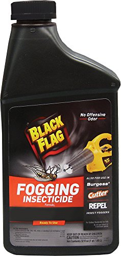 Black Flag 190255 Flying Insect Killer, Dry Fog, 32 Ounce