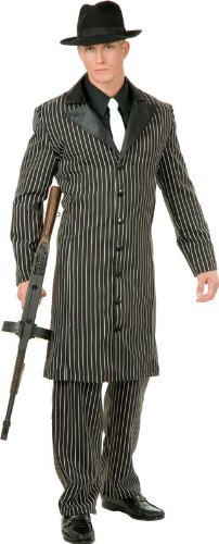 Gangster Suit Long Jacket - Teen (Long Gangster Suit Costumes)