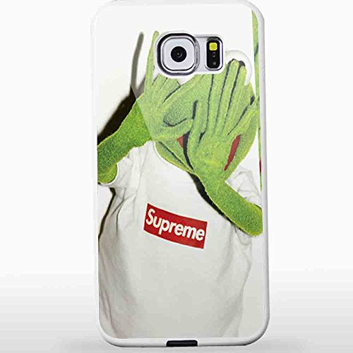 Kermit Supreme Hipster for Iphone and Samsung Galaxy Case (Samsung Galaxy S6 white)