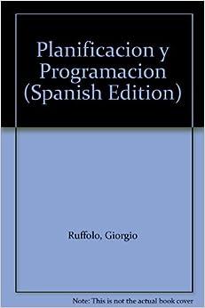 Book Planificacion y Programacion (Spanish Edition)