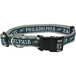 Pets First NFL Philadelphia Eagles Dog Collar, X-Large