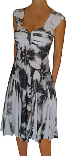 Funfash Plus Size Clothing for Women Empire Waist Slimming Cocktail Dress