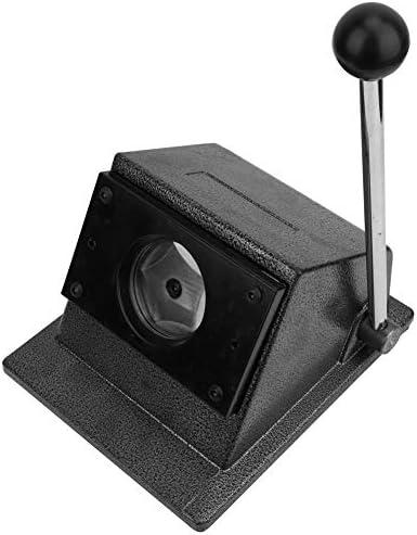 50mmバッジグラフィックカッティングパンチ、メタルデスクトップマニュアルサークルペーパーカッターグラフィックパンチダイカッターバッジ作成用