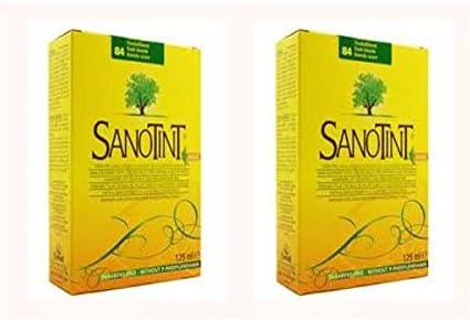SANOTINT 2 CONFEZIONI TINTA SENSITIVE COLORE 84 BIONDO SCURO 125 ML