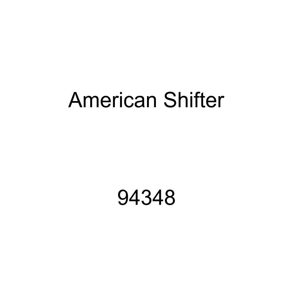 Black Lock Symbol American Shifter 94348 Red Shift Knob with M16 x 1.5 Insert