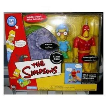 The Simpsons Exclusive Lunar Base Playset with Radioactive Man and Fallout Boy]()