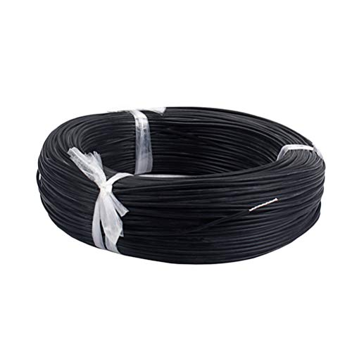 Healifty Guitar wire Single-Conductor Shielded Wire Guitar Circuit Wiring Hookup Wire Pickup Cable 10M ()