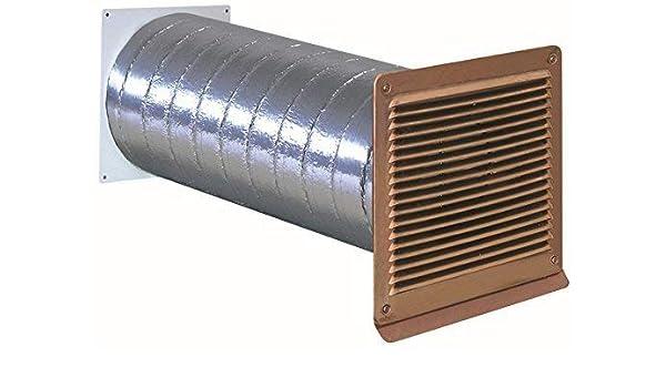 Canalizado ISO Muro Buzón Tubo 150 mm de diámetro exterior rejilla Cobre Válvula antirretorno * 568277: Amazon.es: Grandes electrodomésticos