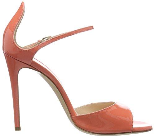 Dei Mille 4121021, Sandalias de Tacón Mujer Naranja (Coral)