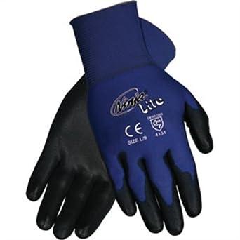 Amazon.com: MCR Safety n9696 X L Ninja Lite guantes, XL ...