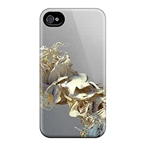 4/4s Scratch-proof Protection Case Cover For Iphone/ Hot Paint Flow 51 Phone Case