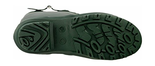 UK Ladies 41 EU Welly Cotswold Boot Wellington Womens Size Green 7 Sandringham PVC Green Buckled 6x5qwvZ5a