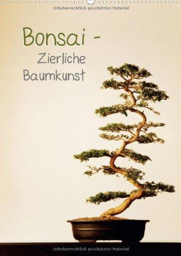 Bonsai – Zierliche Baumkunst (Wandkalender 2013 DIN A2 hoch): Miniaturbäume in Steinschalen (Monatskalender, 14 Seiten)