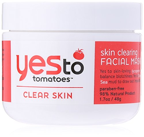 Price comparison product image Yes To Tomatoes Skin Clearing Facial Mask, 1.7 Fluid Ounce