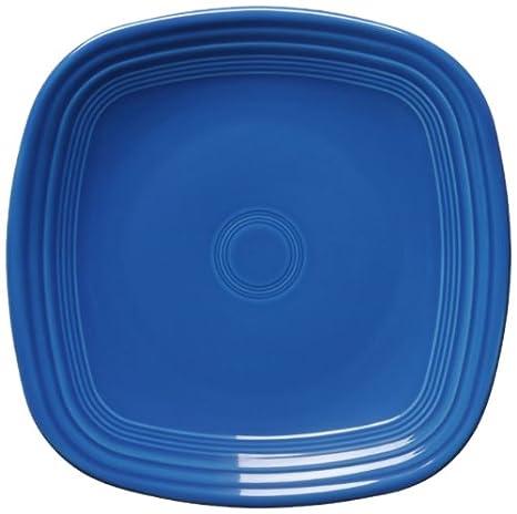 Fiesta Square Dinner Plate 10-3/4-Inch Lapis & Amazon.com | Fiesta Square Dinner Plate 10-3/4-Inch Lapis ...