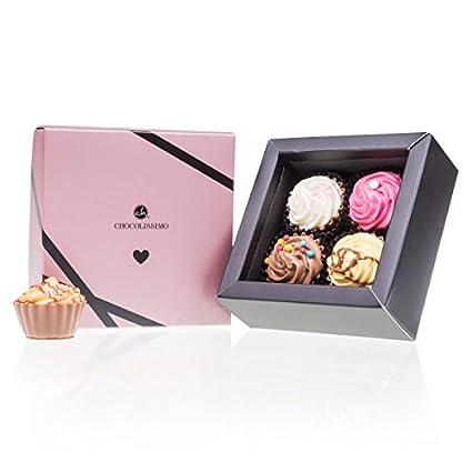 Love Cupcake 4 Pralinen In Cupcake Form Valentinstag Geschenk