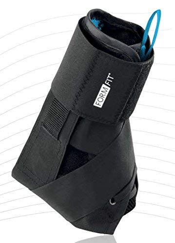 OSSUR Form Fit Foot Ankle Support Brace With SPEEDLACE Figure 8 Black S Ankle Cir 11-12″ (Former Gameday)