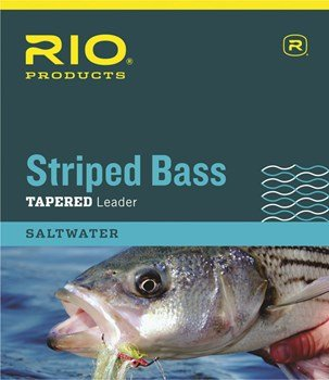 Rio Striped Bass Leader 7ft, 3 Pack (7FT - 12LB - 3PK)