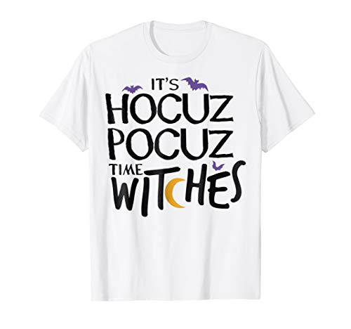 It's Hocus Pocus Time Witches Shirt Halloween Costume