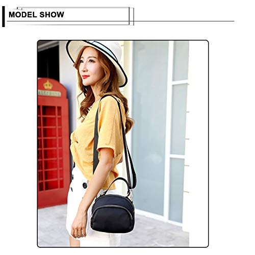 Badiya Crossbody Water Multicolor Purse Women d Multi Messenger Tote Bags Handbags Pocket Anti splash Shoulder bag zTzBr
