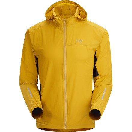 Arc'teryx Incendo Hooded Jacket - Men's Maize, XL