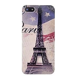 Conseguir Caso del patrón de estrella de la torre Eiffel duro para el iphone 5/5s
