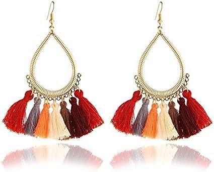 Pendientes de aleación de moda Pendientes de perlas de moda Pendientes de gota de circón azul para mujeres Joyas de boda Pendientes de una dirección