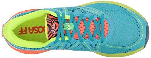 Royaume 4 Aquarium Corail Femme Ff Asics flash Chaussure De s Course Noosa 5 uni WxY8vqF4Cv