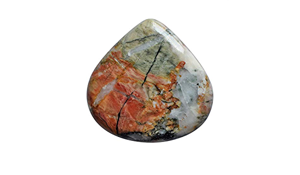 AAA Quality 100/% Natural Incredible Snakeskin Jasper Oval Shape Cabochon Gemstone Handmade Thread Jewelry Macrame Pendant 2.3 N-2687