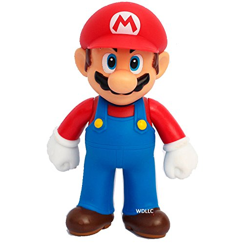 WAREHOUSEDEALS Super Mario Bros PVC Action Figure Toy 5