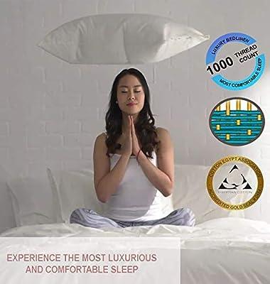 Amazon.com: Purity Home - Juego de sábanas de satén de 1000 ...