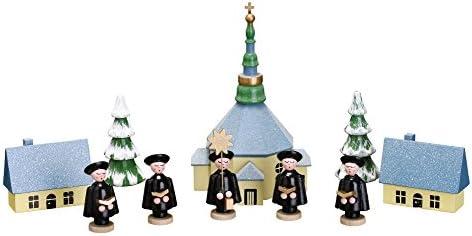 Tischdeko Kurrendefiguren 3 Figuren Natur Höhe ca 5 cm NEU Kurrende Kirche