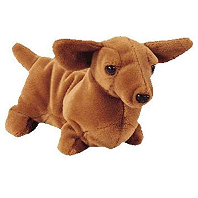 Ty Beanie Babies - Weenie the Dachshund Dog: Toys & Games